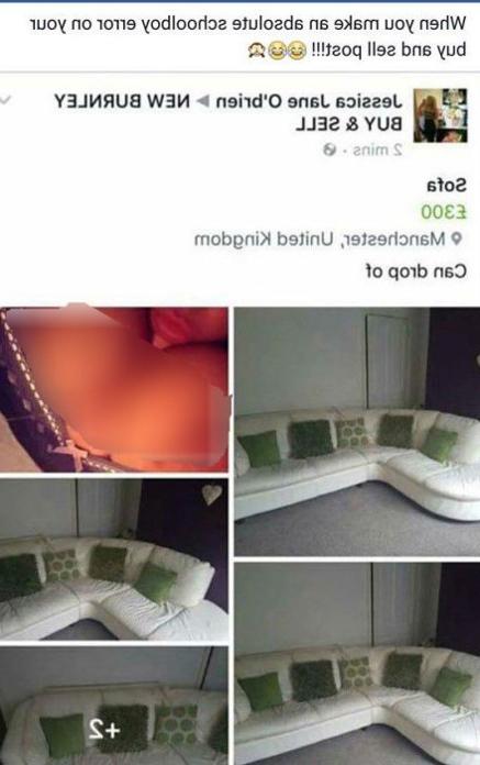 Compradores De Muebles A Domicilio 87dx Puso A La Venta Un sofà En Y Publicà Esta Foto à Ntima Por Error