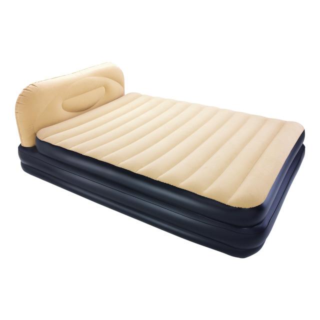 Comprar Colchon Hinchable Ftd8 Cama Hinchable Flocada Doble Con Cabecero soft Back Hinchador