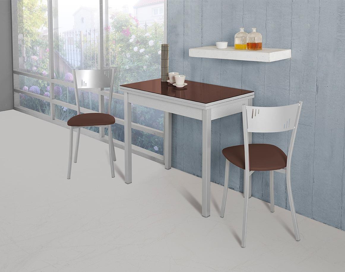Comprar Mesa De Cocina Budm Mesa De Cocina Apertura Tipo Libro Modelo D