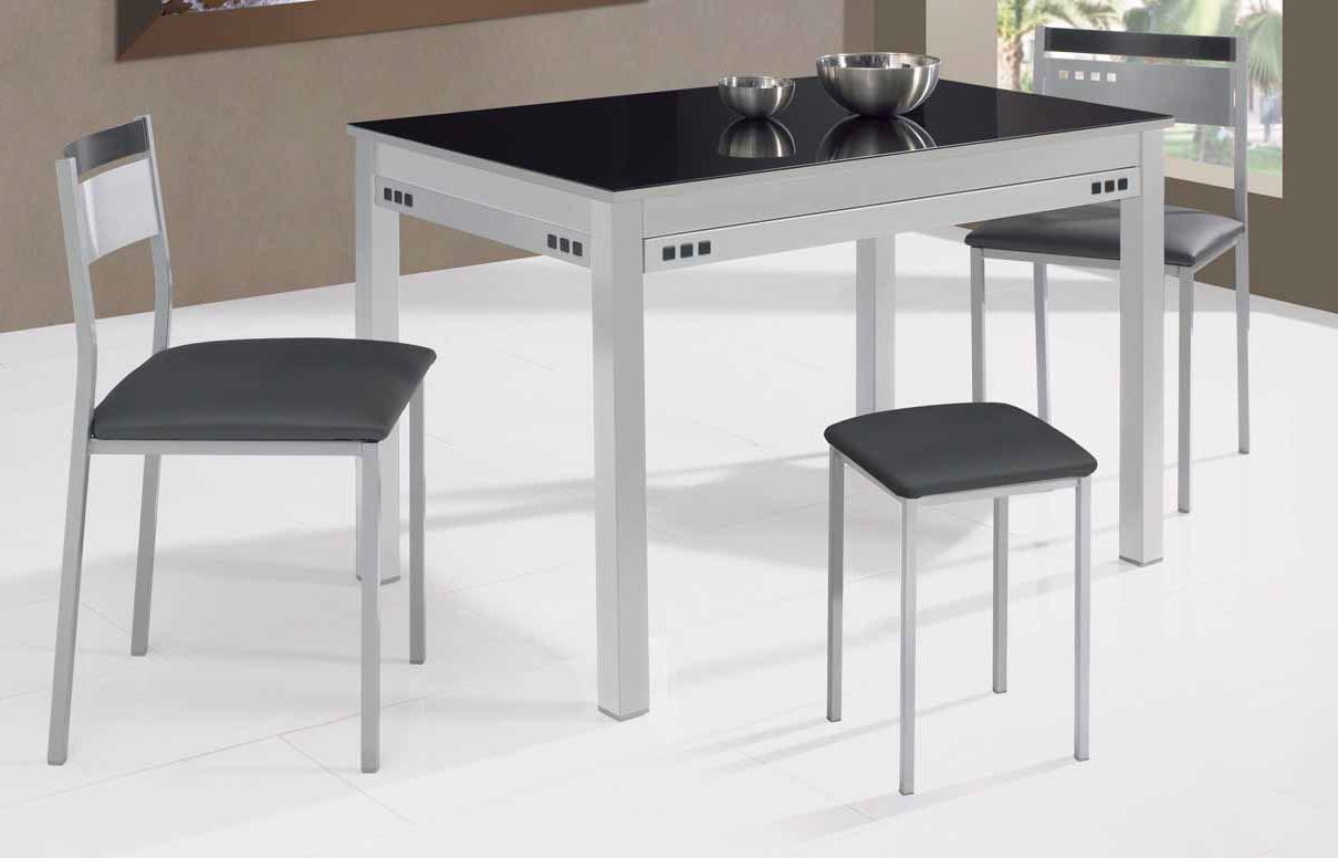 Comprar Mesa De Cocina Y7du Mesa De Cocina Fija Negra Modelo NÃ Spero