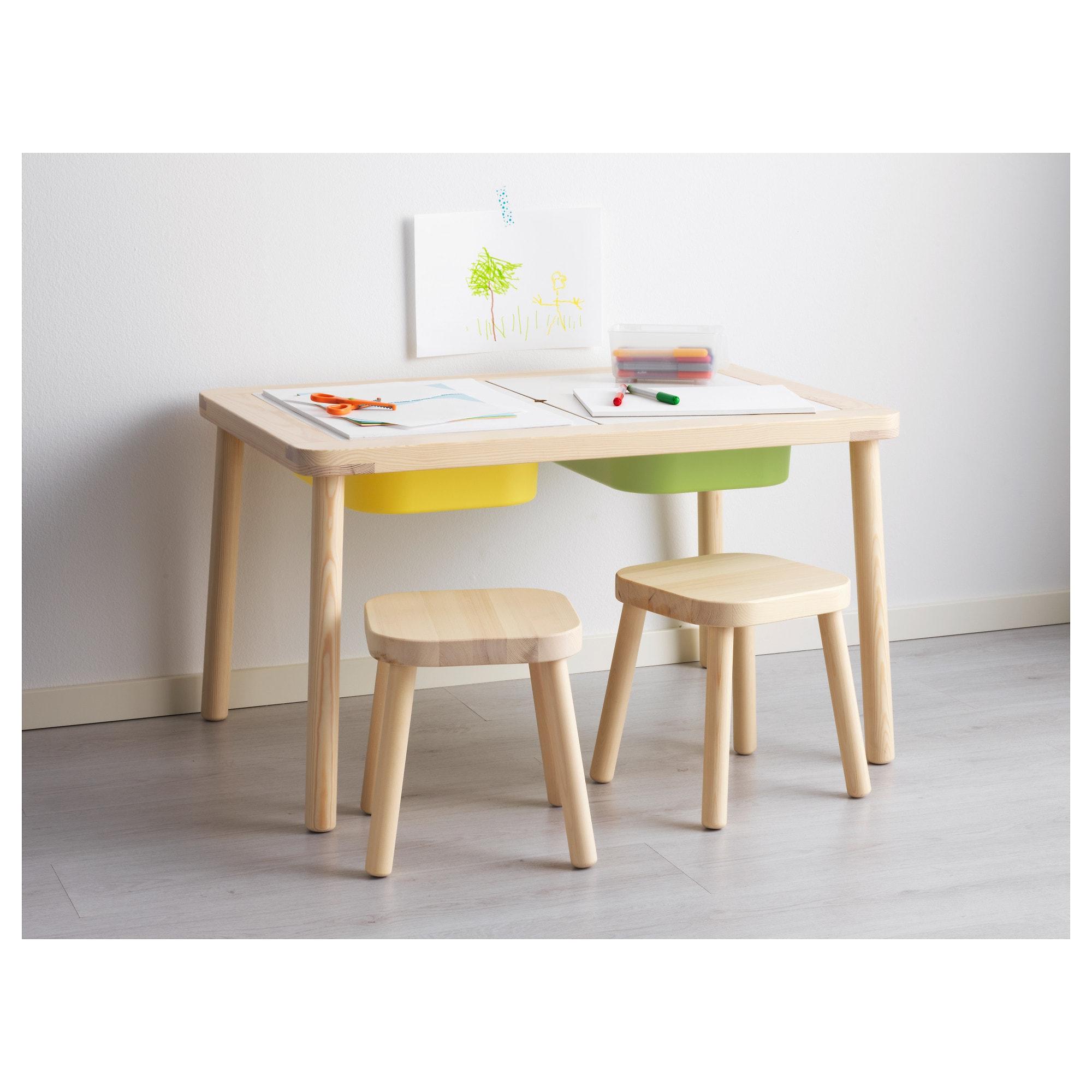 Comprar Mesa De Luz Para Niños Etdg Flisat Mesa Para Nià Os 83 X 58 Cm Ikea