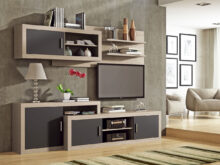 Comprar Muebles De Salon 3ldq Mueble De Salà N Edor Roble Y Grafito Mobiliario Salà N 280 Cms