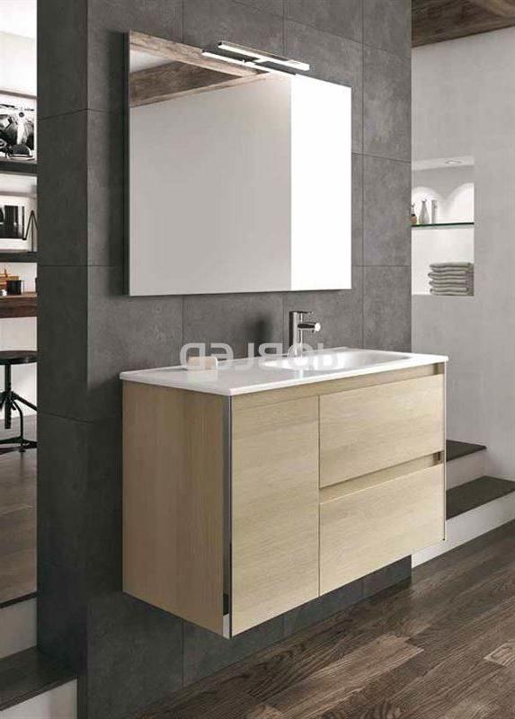 Conjunto Muebles De Baño Q0d4 Mueble De Baà O Modelo Look 90 Cm Lavabo Slim