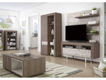 Conjunto Muebles Salon 4pde Mueble Tv Con Patas