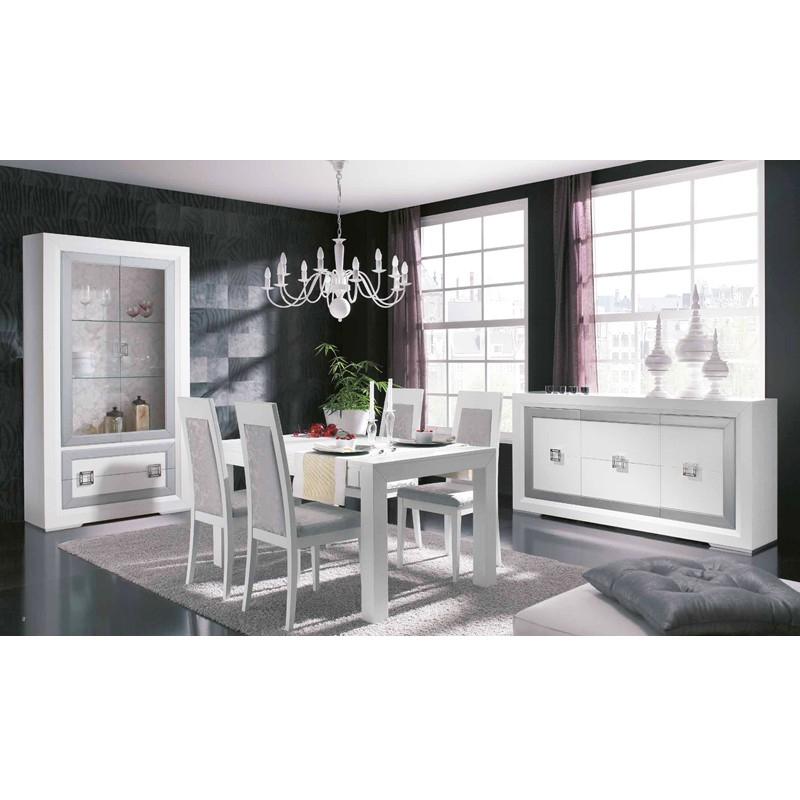 Conjunto Muebles Salon O2d5 Aparador Y Vitrina Modernos Para Salà N Edor Con Mesa Extensible