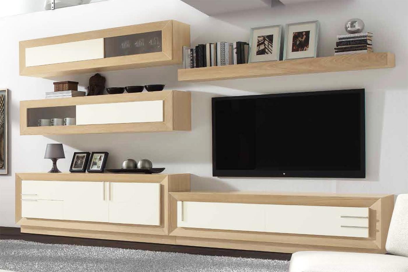 Conjunto Muebles Salon Xtd6 Muebles Modulares Para Salones Edores De Diseà O En Madera De Roble