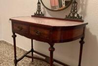 Coqueta Mueble Tldn Mueble Auxiliar Coqueta Vintage De Segunda Mano Por 140 En