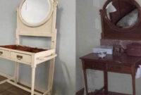 Coqueta Mueble Zwd9 Pintar Una Coqueta Antigua El Taller De Lo Antiguo