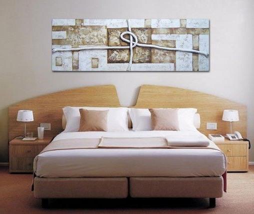 Cuadros De Cabecera De Cama 3ldq Cuadro Moderno Abstracto Con Cuerda Y Texturas Ideal Para Colocar