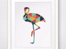 Cuadros Para Imprimir Dwdk Colorful Flamenco Pintura Al à Leo Lienzo De Pared De Arte Para
