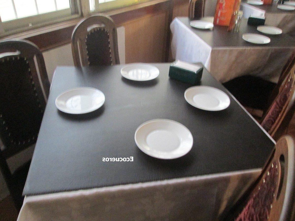 Cubre Mesas 9fdy Cubre Mesa forrado En Eco Cuero Trabajos A Medida 5 000 En