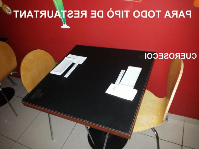 Cubre Mesas E6d5 Cueros Ecoi Restaurante En Ecocuero Y Cuero