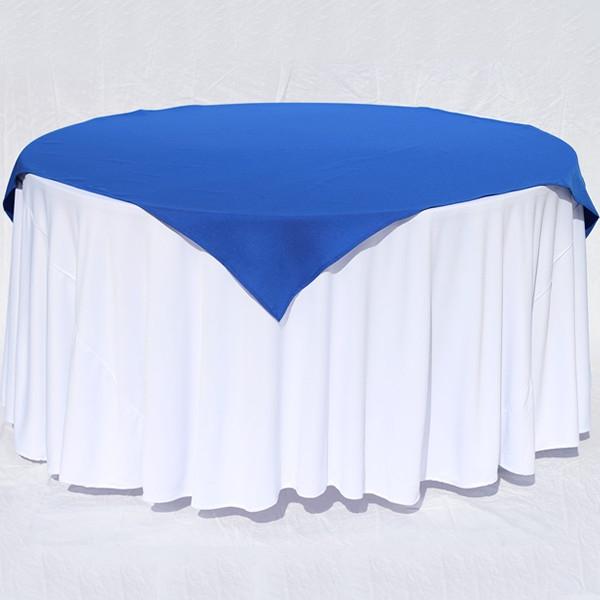 Cubre Mesas Etdg Cubre Mantel Color Azul Rey En Tela Tafetà N norvus Ercial Â
