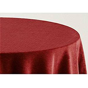 Cubre Mesas Nkde Falda Para Mesa Camilla Modelo Deluxe 793 Color Granate 706 Medida