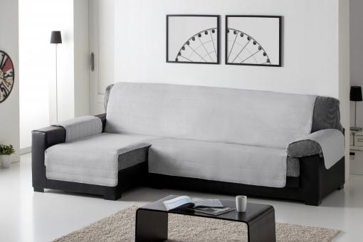 Cubre sofa Chaise Longue 9ddf Cubre sofa Acolchado Chaise Longue 240 Derecho Gris