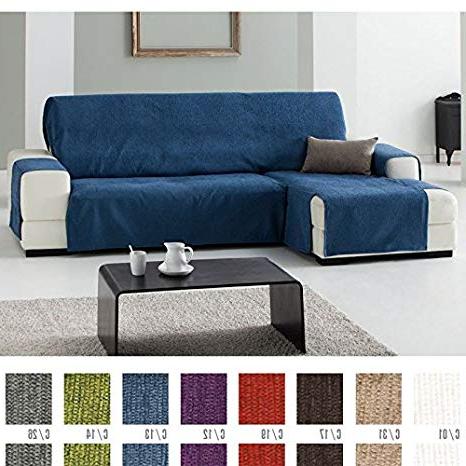 Cubre sofa Chaise Longue Dwdk Funda Cubre sofà Chaise Longue Modelo Zoco Color Gris C 26