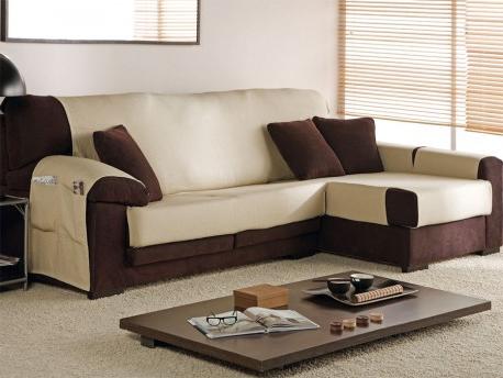 Cubre sofa Chaise Longue E9dx Funda sofà Chaise Longue Trigo