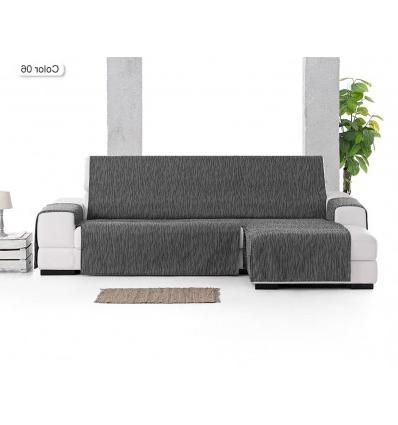 Cubre sofa Chaise Longue O2d5 Funda Cubre sofa Chaiselongue Indico Tejido Resistente Con Vivo Decorativo