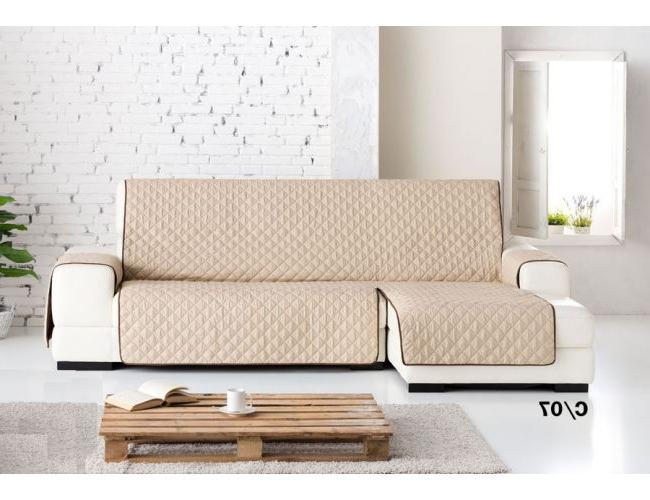 Cubre sofa Chaise Longue S1du Funda Cubre sofà S Chaise Longue Lady Reversible Medidas De Largo 2 40 Y 2 90 Mts Ocho Colores A Elegir