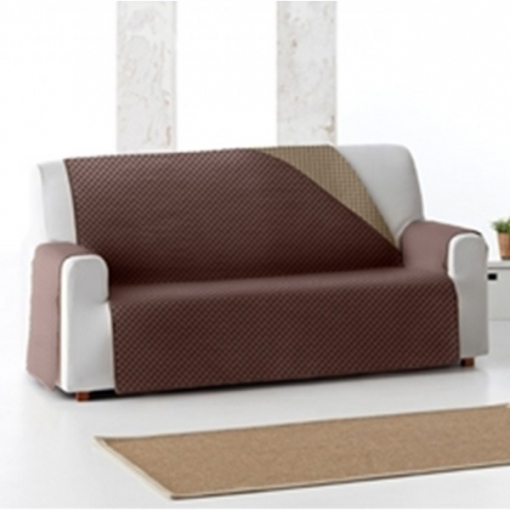 Cubre sofas Carrefour Drdp Cubre sofà Reversible Bicolor Color Marrà N Opcià N sofà 2