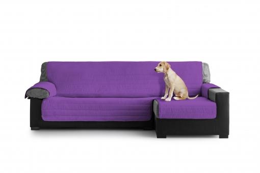 Cubre sofas Carrefour S5d8 Cubre sofa Acolchado Chaise Longue 280 Izquierdo Lila Las Mejores
