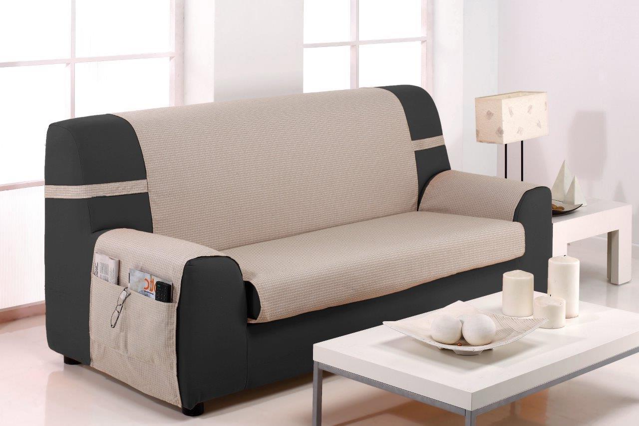 Cubre sofas Conforama Ffdn Cubresofà 3 Plazas Praga Crudo Conforama