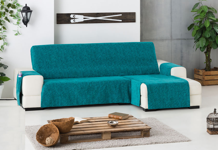 Cubre sofas E9dx Funda Cubre sofà S Chaise Longue Sueà Os Medidas De Largo De 2 40