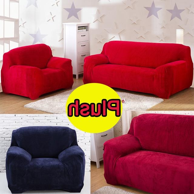 Cubre sofas Nkde Tela De Terciopelo sofà Decorativo Marrà N Cubre sofà S Plazas Doble