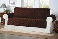 Cubre sofas Q0d4 Safari Homeware Cubre Chocolate Marrà N Para sofà S De 3 Plazas