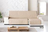 Cubre sofas Txdf Funda Cubre sofà S Chaise Longue Lady Reversible Medidas De Largo