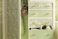 Decorar Muebles Con Papel Pintado Budm 25 Fotos E Ideas Para Decorar Un Mueble Con Papel Pintado