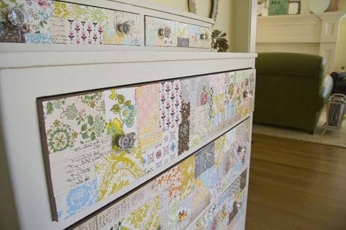 Decorar Muebles Con Papel Pintado Tldn Ideas Para Utilizar El Papel Pintado Y Decorar Al Estilo Vintage
