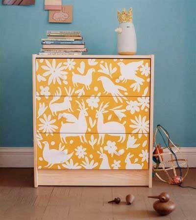Decorar Muebles Con Papel Pintado Tqd3 25 Fotos E Ideas Para Decorar Un Mueble Con Papel Pintado