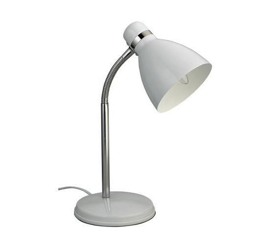 Desk Lamp E6d5 Colourmatch Desk Lamp Super White Table Lamps Argos