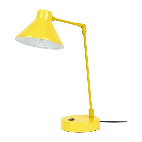 Desk Lamp Nkde Bobby Desk Lamp Made Of Metal Yellow Habitat