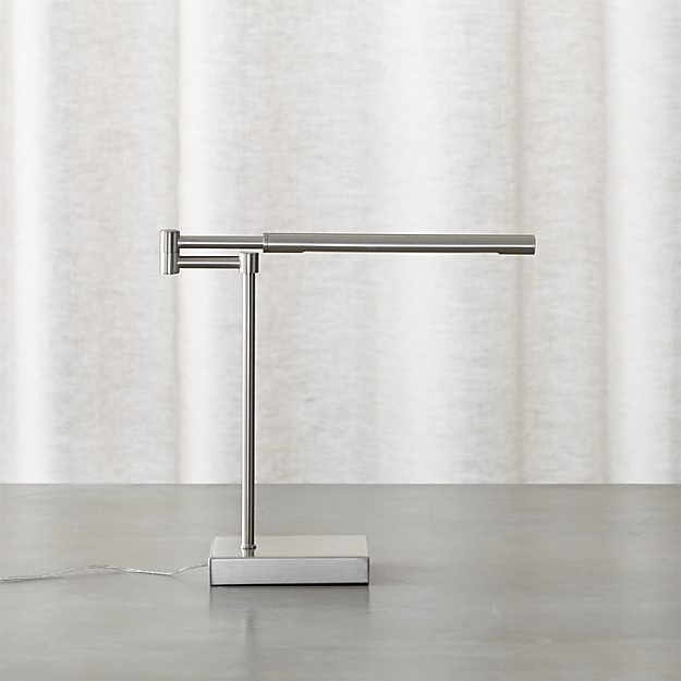Desk Lamp U3dh Sterling Desk Lamp Reviews Crate and Barrel