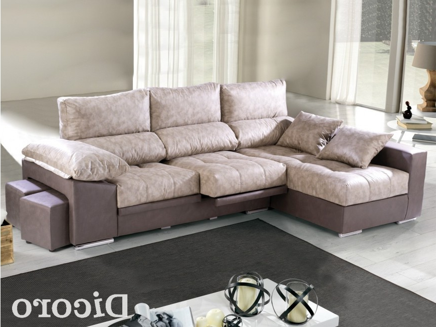 Dicoro sofas 0gdr sofà Chaise Longue Con Pufs Bentley