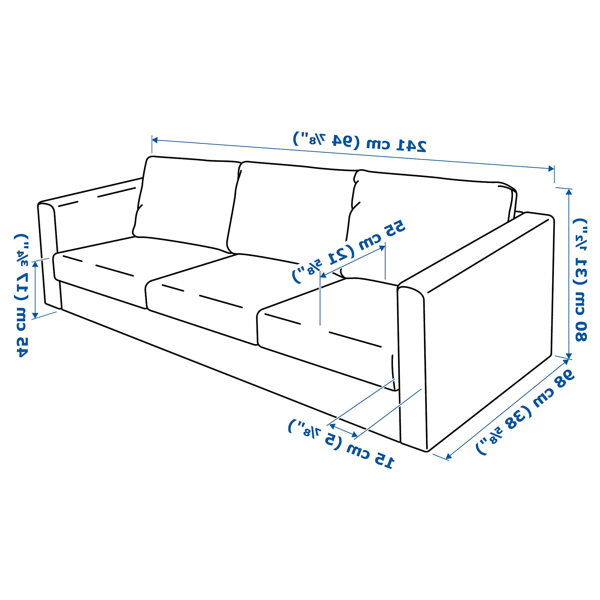 Dimensiones sofa 3 Plazas Dddy Vimle sofà 3 Plazas Gunnared Beige Ikea