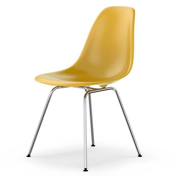 Eames Silla Zwd9 original Eames Plastic Dsx Chair by Vitra In Naharro