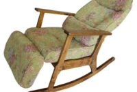 Easy Chair Gdd0 Vintage Furniture Modern Wood Rocking Chair for Aged People Japanese