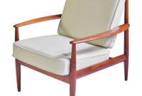 Easy Chair Irdz Vintage Grete Jalk Fd 118 Easy Chair In Teak and Beige Wool 1960s