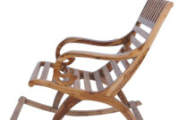 Easy Chair Nkde Teak Wood Rocking Chair In Natural Finish by Furniease Online