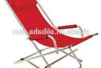 Easy Chair O2d5 Metal Frame Chair Folding Rocking Chair Beach Chair Foldable
