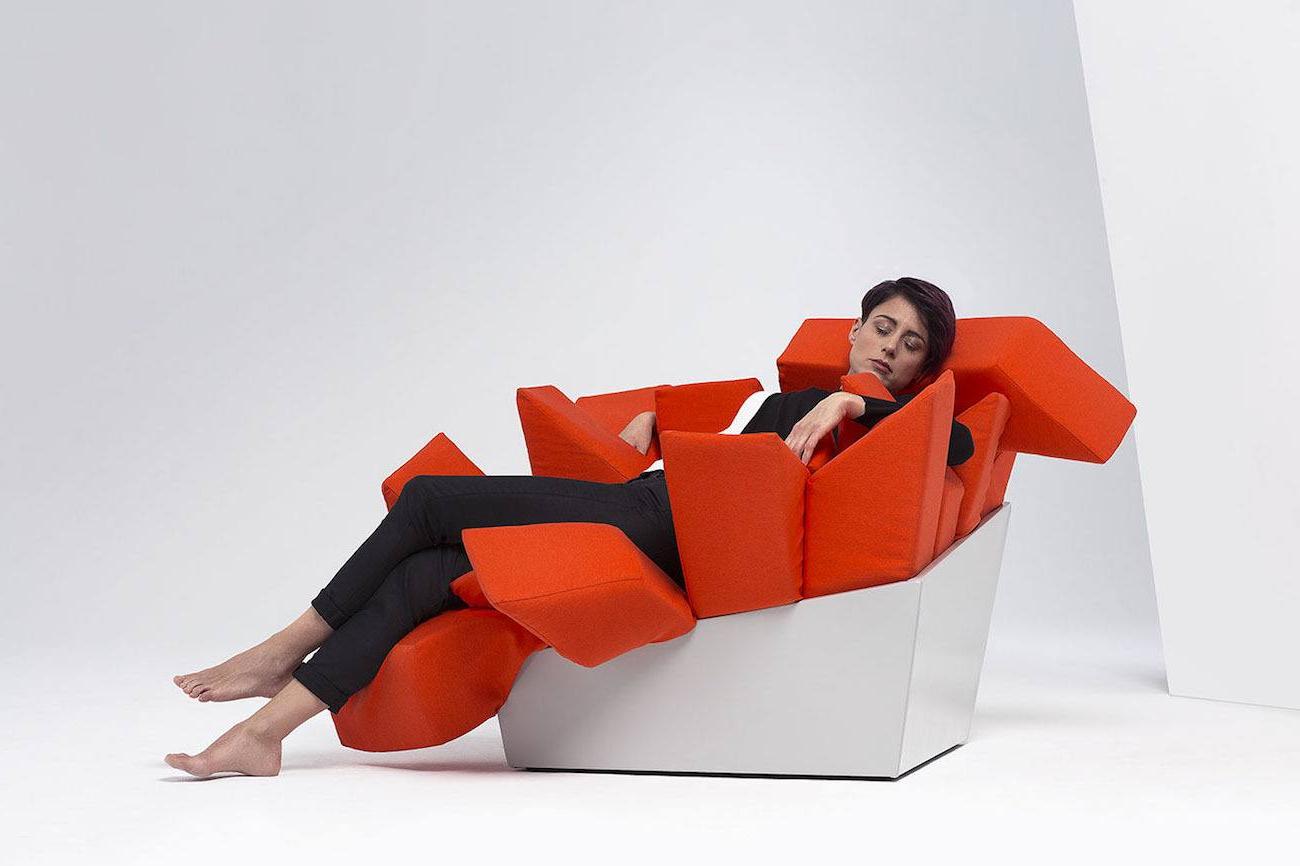 Easychair Fmdf Manet Modern Easy Chair Gad Flow