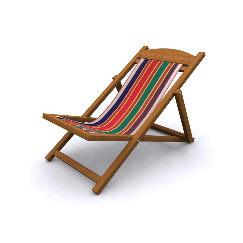 Easychair Mndw Wooden Easy Chair