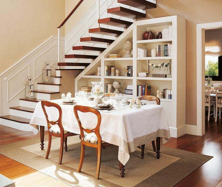 El Mueble Com T8dj Ideas Para Aprovechar El Hueco De La Escalera Nunca Pensaste Que