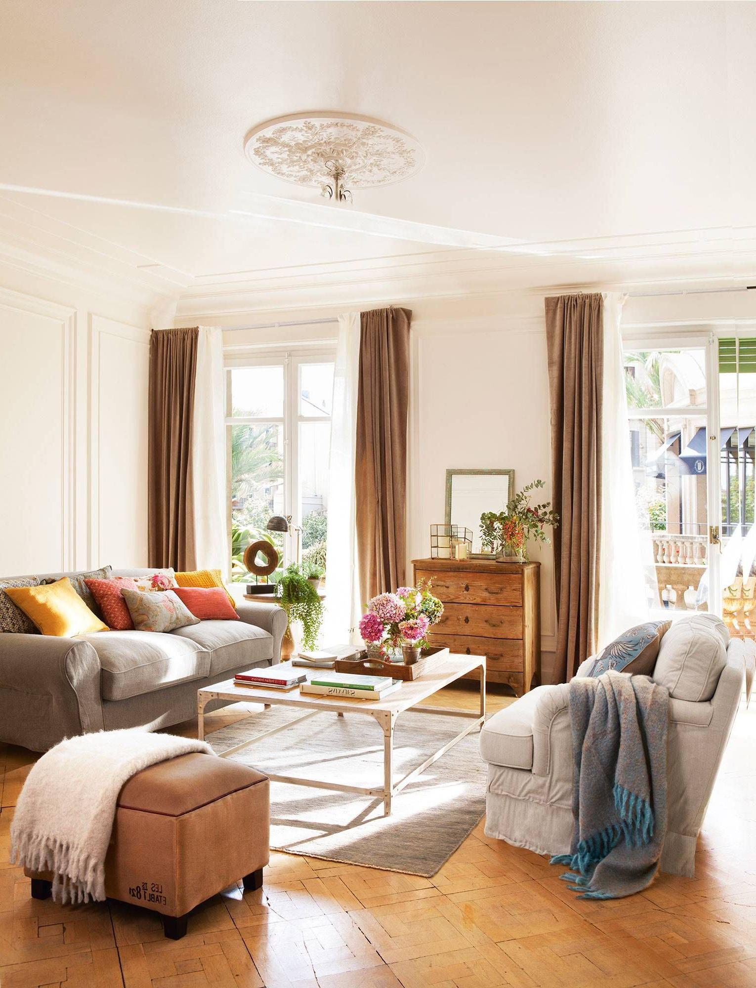 El Mueble Cortinas Drdp Doble Cortina Doble Elegancia Casa El Dean Home Brown