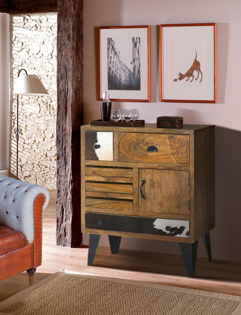 El Mueble Recibidores 9fdy 6428 Mueble Recibidor Industrial Vintage 87 Madera Y Metal Primera