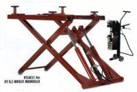 Elevador Portatil 9ddf Elevador De Tijera Con Dos Pistones Portatil Potencia 2800 Kg