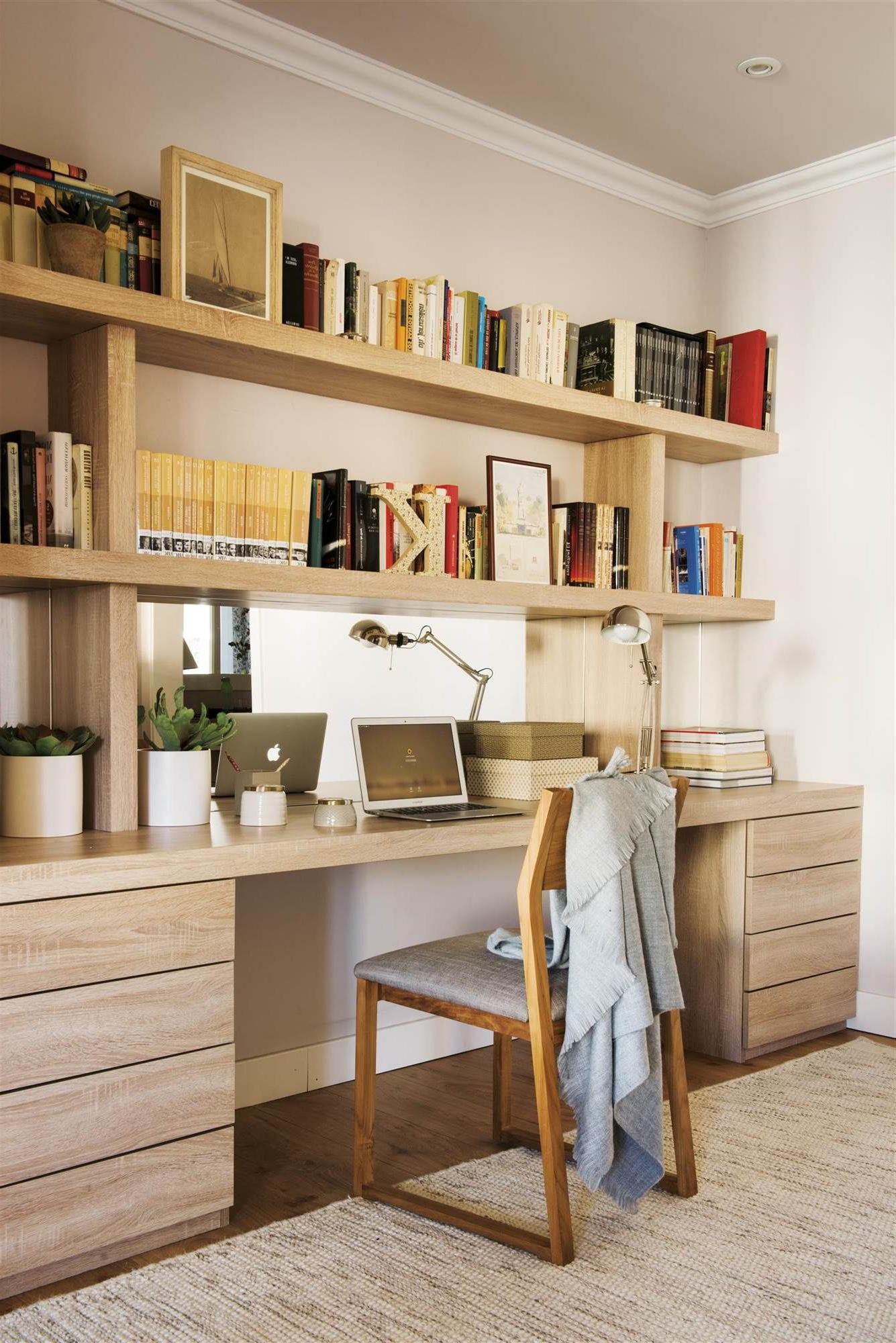 Escritorio A Medida Budm Un Escritorio A Medida Que Aprovecha El Rincà N My Home En